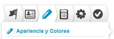 Definir Apariencia y color en App Múltiple Choice