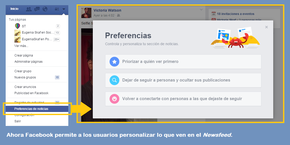 El algoritmo detrás del Marketing en Facebook