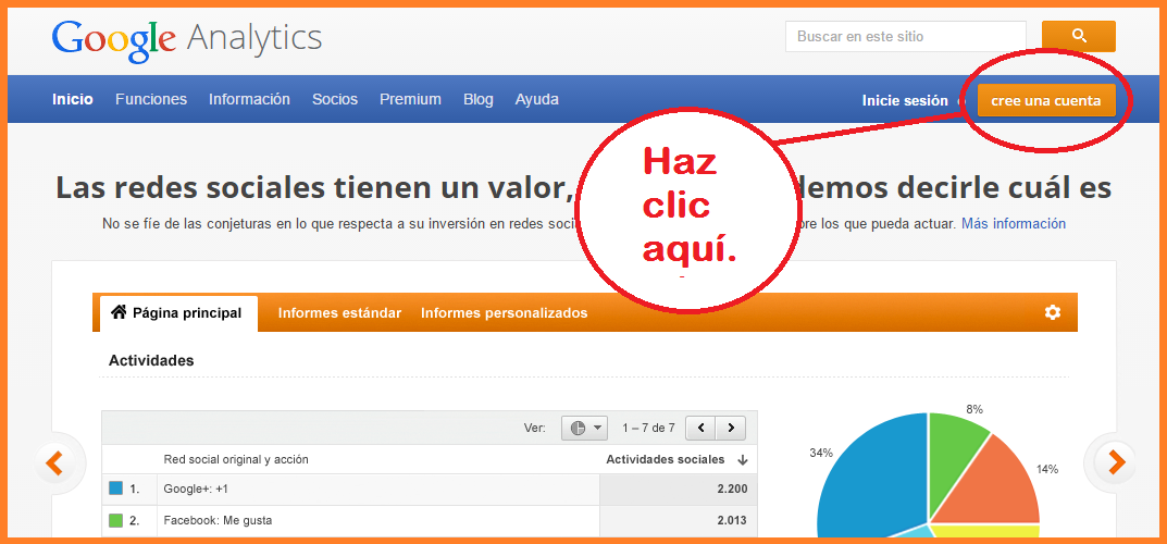 "Google Analytics, tutorial para ""beginners"""