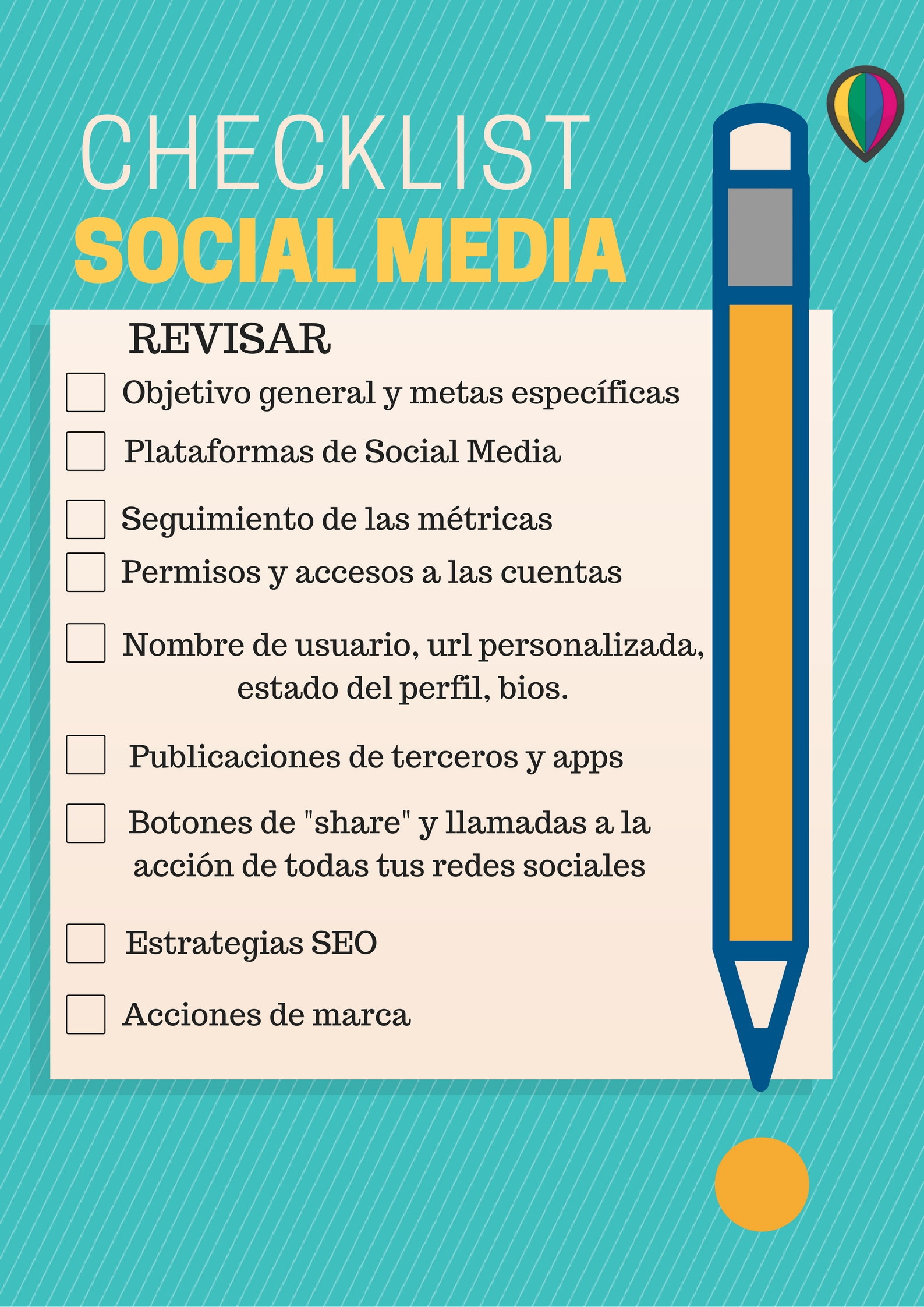 Checklist Plan de Social Media